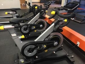 elite fitness tyler gym tour de france spin bikes