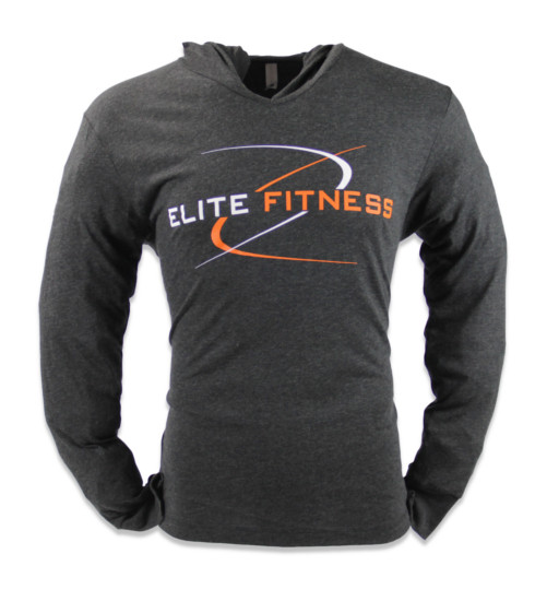 24-7 Gym Tyler TX - Elite Fitness - Black Sweatshirt
